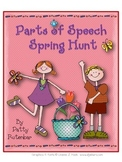 Parts of Speech Spring Hunt