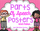 Parts of Speech {posters and printables}