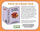 Parts of a Book Pack-CCSS Aligned