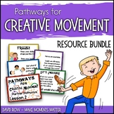 Pathways for Creative Movement - PowerPoint, Flash Cards,