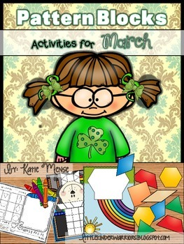 Pattern Block Puzzles for March
