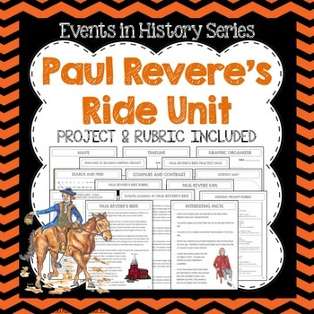 Paul Revere's Ride Study and Project