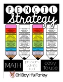 Pencil Strategy for word problems