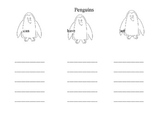 Penguin Can, Have, Are Chart