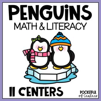Penguin Math & Literacy Work Stations