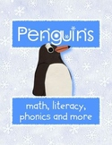 Penguin Theme Kindergarten Learning Activities