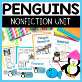 Penguins Math and Literacy Fun
