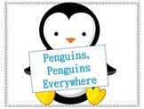 Penguins Penguins Everywhere Informative Text and Writing