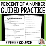 Percent of a Number Guided Practice