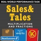 Performance Task – Multiplication & Fractions – Sales & Ta