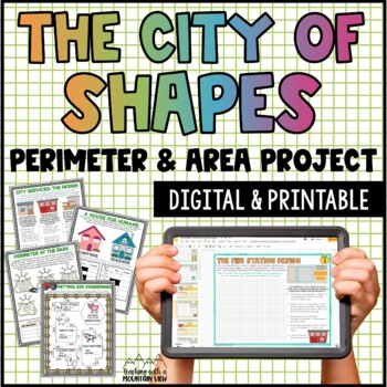 Perimeter & Area Math Project Printables
