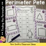 Perimeter Pete Mega Math Pack - Finding Perimeter For 3.MD.D.8