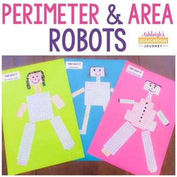 Area and Perimeter Robot
