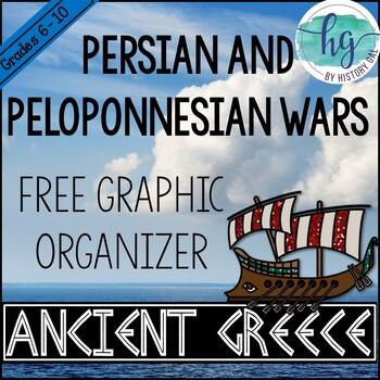 Persian and Peloponnesian Wars Chart