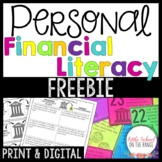 Personal Finance and Money Unit FREEBIE
