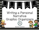 Personal Narrative Graphic Organizer II  by The Teacher's