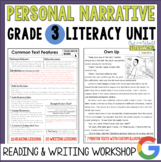 Personal Narrative Reading & Writing Unit: Grade 3...40 Le