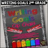 Personal Writing Goals Clip Chart - Grade 2