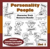 Personality People, Set 1 –Common Core ELA-based characte