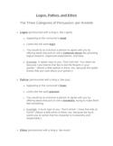 Persuasion: Logos, Pathos, and Ethos Unit Materials All-in