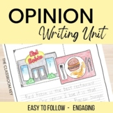 Persuasive and Opinion Writing Resources