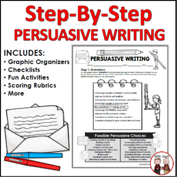Persuasive Writing Unit with Lesson Plans