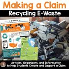 FREE Persuasive/Opinion Writing: Recycling E-Waste (Make a