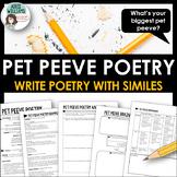 Similes - Pet Peeve Poetry