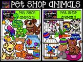 Pet Shop Animals {Creative Clips Digital Clipart}