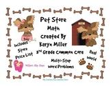 Pet Store Math - Multi-Step Word Problems - 3.OA.8 - CC 3r