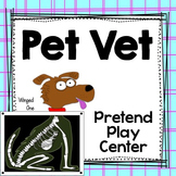Pet Vet Center Dramatic Play / Veterinarian Pretend Play