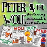 Peter and the Wolf Fact Sheets & Listening Journal