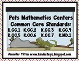 Pets Mathematics Centers - Common Core