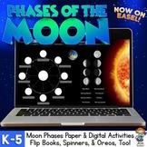 Phases of the Moon Oreo Activity FREEBIE