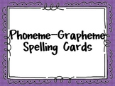 Phoneme-Grapheme Spelling Cards (Sound-Spelling)