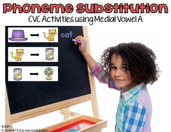 Phoneme Substitution Freebie--First Grade and Fabulous