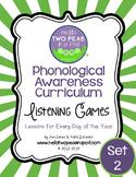 Phonemic Awareness Curriculum: Literature Based - One Year