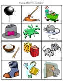 Phonemic Awareness .. Rhyming Words Match Game