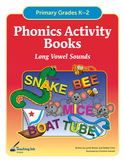 Phonics Activity Books - Long Vowels (Grades K-2) by Teaching Ink
