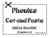 Phonics Cut and Paste [Word Work Sorts MEGA Bundle]