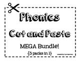 Phonics Cut and Paste [Word Work Sorts MEGA Bundle]