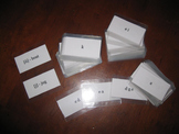 Phonics Drill Cards (full deck) with quality lamination!