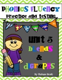 Phonics Fluency Practice and Assessments-Unit 5 Blends and