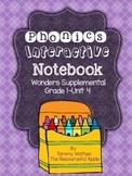 Phonics Interactive Notebook {Wonders Supplemental-Unit 4-