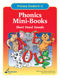 Phonics Mini Books - Short Vowel Sounds (Grades K-2) by Te