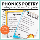 Phonics Poetry for Grades K-2
