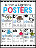 Phonics Posters Blends and Digraphs
