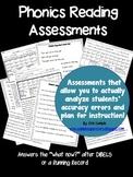 Phonics Reading Assessments