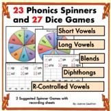 Phonics Spinner Games