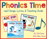 Short Vowels, Long Vowels, Sight Words & MORE - 28 Songs +